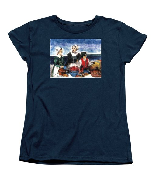 Thanksgiving Supper Women's T-Shirt (Standard Cut)