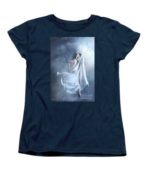That Single Fleeting Moment When You Feel Alive Women's T-Shirt (Standard Cut) by Linda Lees