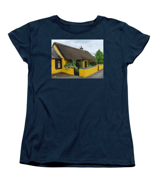 Thatched House Ireland Women's T-Shirt (Standard Cut) by Brenda Brown