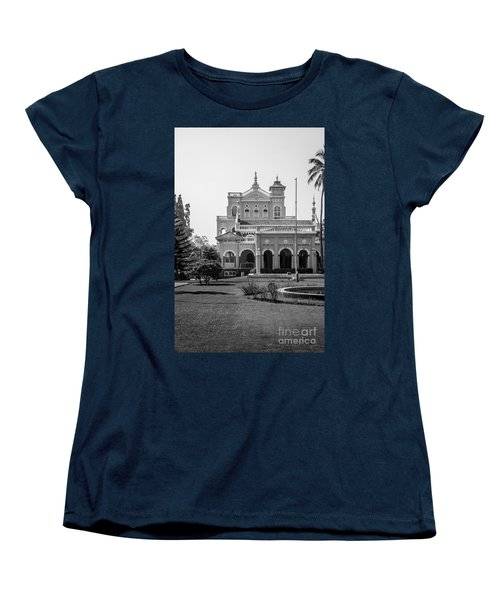 The Aga Khan Palace Women's T-Shirt (Standard Cut) by Kiran Joshi