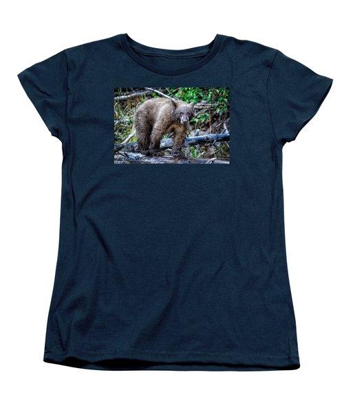 Women's T-Shirt (Standard Cut) featuring the photograph The Balance Beam by Jim Thompson
