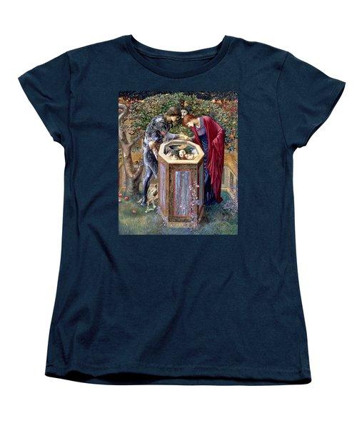 The Baleful Head, C.1876 Women's T-Shirt (Standard Cut) by Sir Edward Coley Burne-Jones