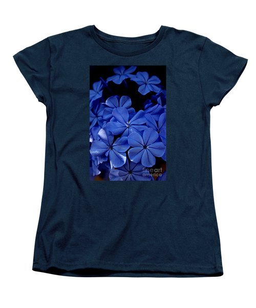 The Blues Women's T-Shirt (Standard Cut) by Clare Bevan