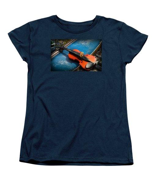 The Bridge Women's T-Shirt (Standard Cut) by Alessandro Della Pietra
