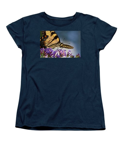 The Butterfly Women's T-Shirt (Standard Cut) by Lori Tambakis