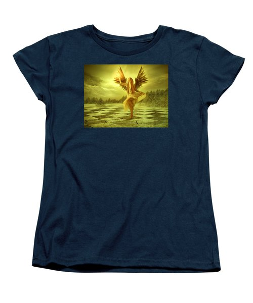 Women's T-Shirt (Standard Cut) featuring the photograph The Calling by Ester  Rogers