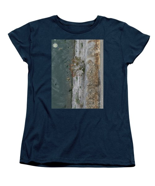The Canal Water Women's T-Shirt (Standard Cut) by Brenda Brown