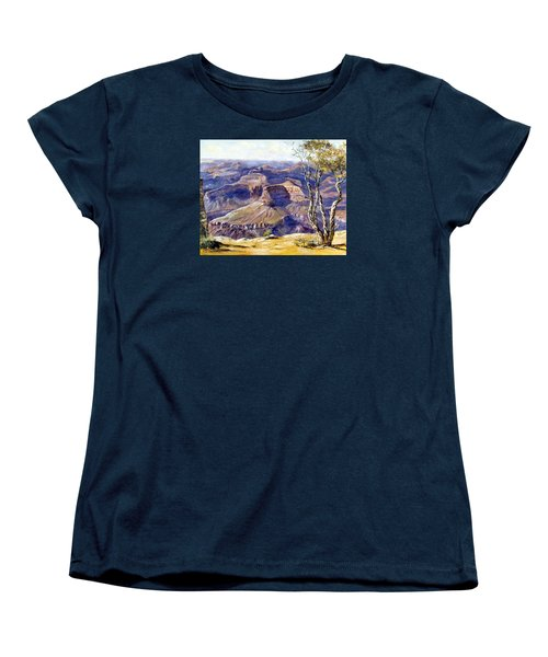 The Canyon Women's T-Shirt (Standard Cut) by Lee Piper