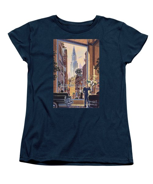 The Chrysler Women's T-Shirt (Standard Cut) by Michael Young