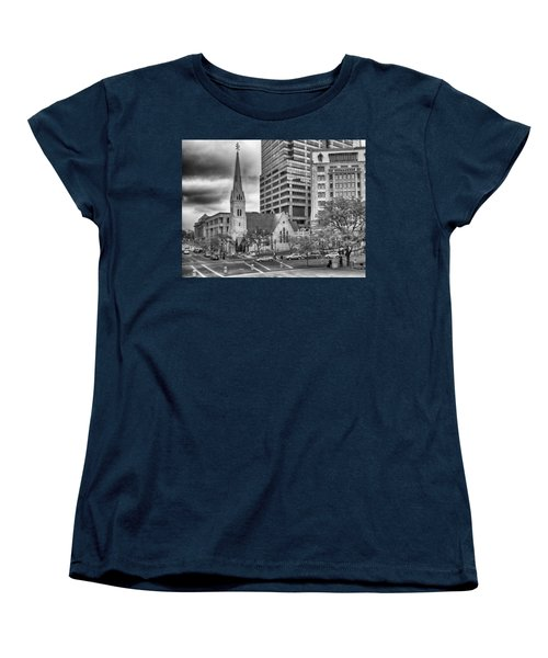 Women's T-Shirt (Standard Cut) featuring the photograph The Church by Howard Salmon