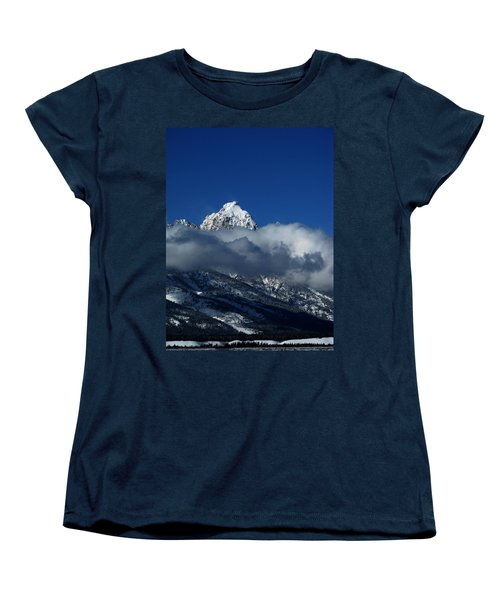 Women's T-Shirt (Standard Cut) featuring the photograph The Clearing Storm by Raymond Salani III