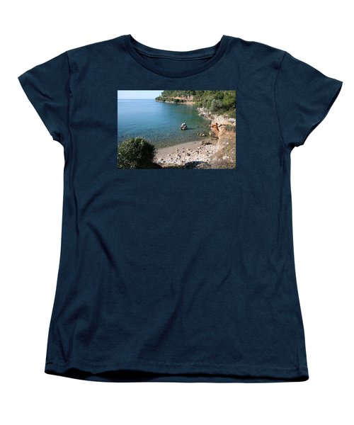 Women's T-Shirt (Standard Cut) featuring the photograph The Coast To Oren  by Tracey Harrington-Simpson