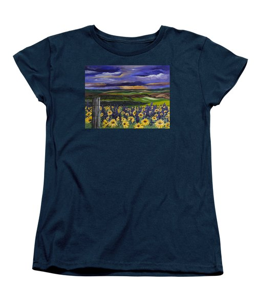 The Colors Of The Plateau Women's T-Shirt (Standard Cut)