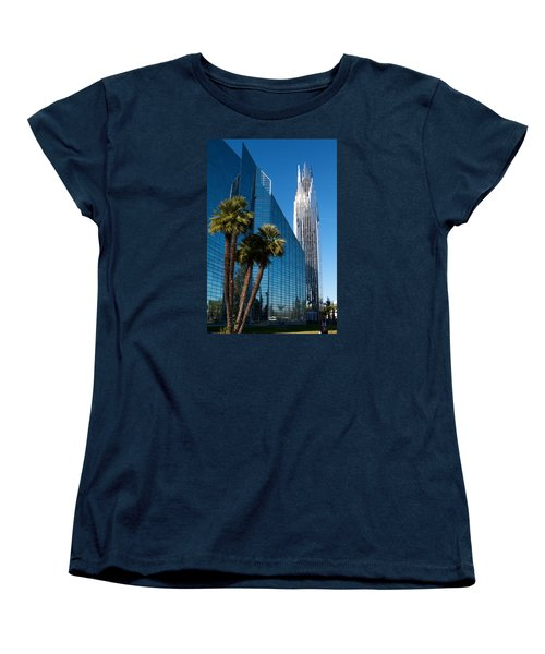 The Crystal Cathedral  Women's T-Shirt (Standard Cut) by Duncan Selby