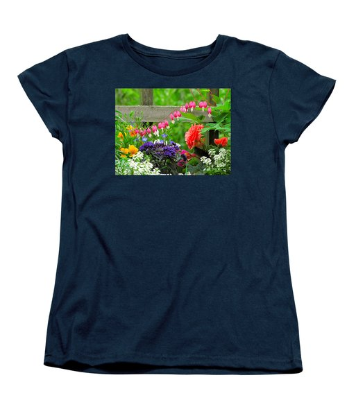The Dance Of Spring Women's T-Shirt (Standard Cut) by Sean Griffin