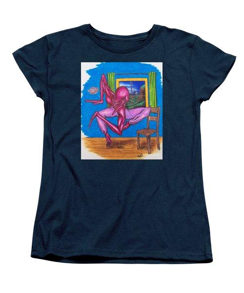 The Dancer Women's T-Shirt (Standard Cut) by Michael  TMAD Finney