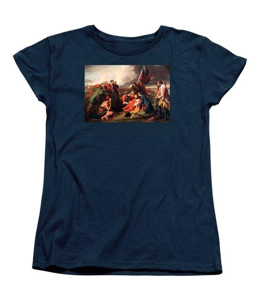 The Death Of General Wolfe Women's T-Shirt (Standard Cut) by Benjamin West