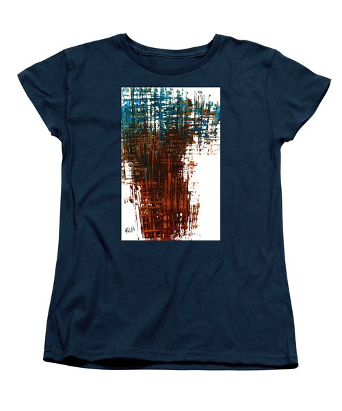 Women's T-Shirt (Standard Cut) featuring the painting The Divine In Us 265.111011 by Kris Haas