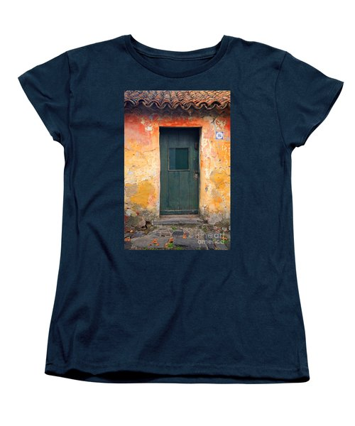 Women's T-Shirt (Standard Cut) featuring the photograph The Door by Bernardo Galmarini