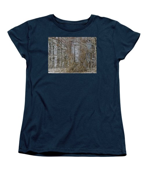 Women's T-Shirt (Standard Cut) featuring the photograph The Door To The Past by Wilma  Birdwell