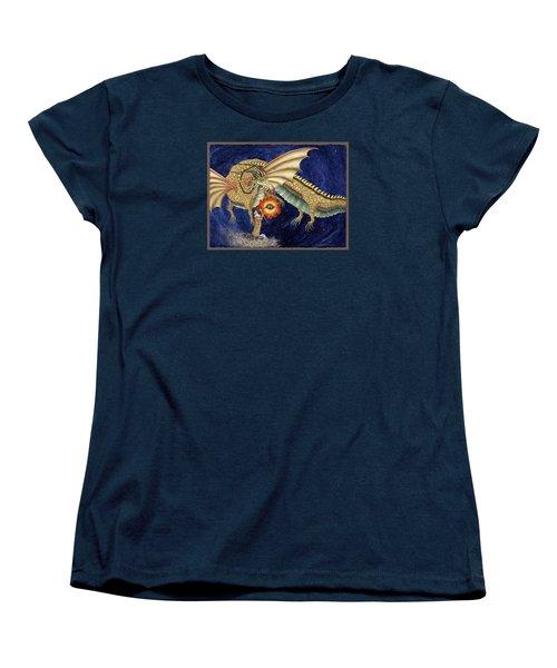The Dragon King Women's T-Shirt (Standard Cut) by Lynda Hoffman-Snodgrass