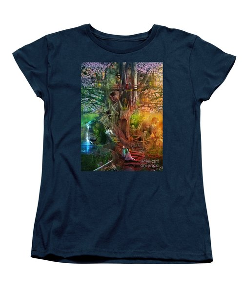 The Dreaming Tree Women's T-Shirt (Standard Cut) by Aimee Stewart