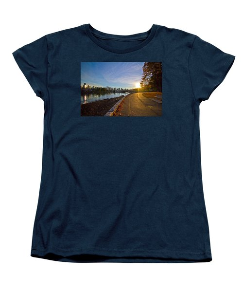 Women's T-Shirt (Standard Cut) featuring the photograph The Emerald City by Eti Reid