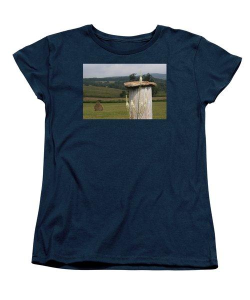 Fall Harvest Women's T-Shirt (Standard Cut) by Yvonne Wright
