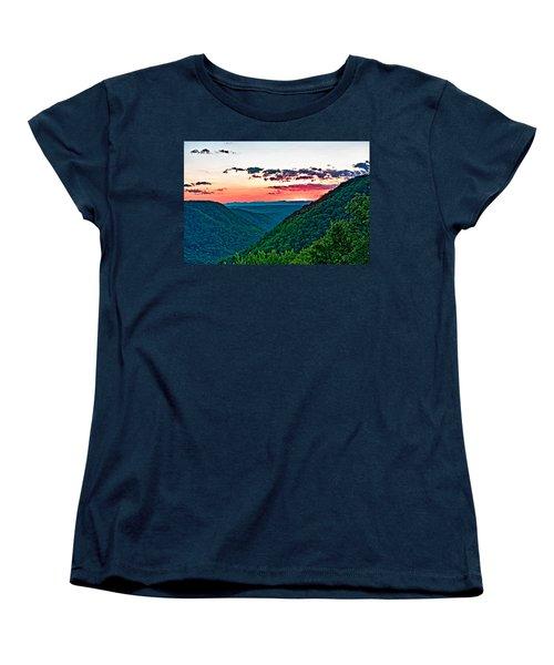 The Far Hills 2 Women's T-Shirt (Standard Cut) by Steve Harrington