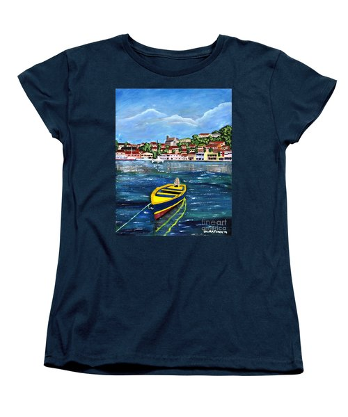 The Fishing Boat  Women's T-Shirt (Standard Cut) by Laura Forde