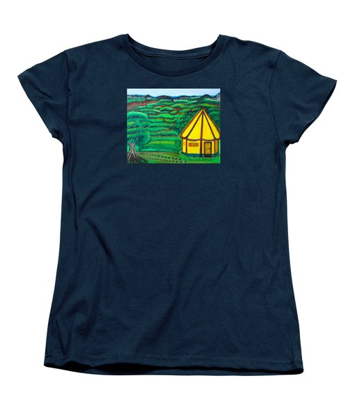 The Footsteps And The Promised Women's T-Shirt (Standard Cut) by Lorna Maza