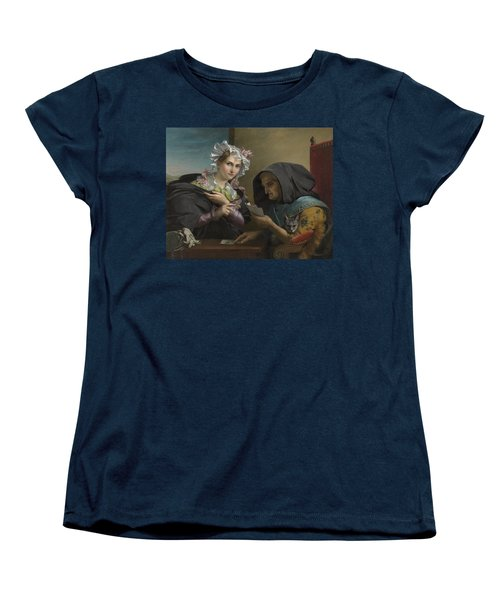 The Fortune Teller Women's T-Shirt (Standard Cut) by Adele Kindt