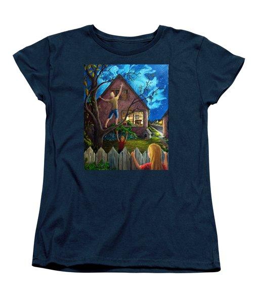 Women's T-Shirt (Standard Cut) featuring the painting The Gleaners by Matt Konar