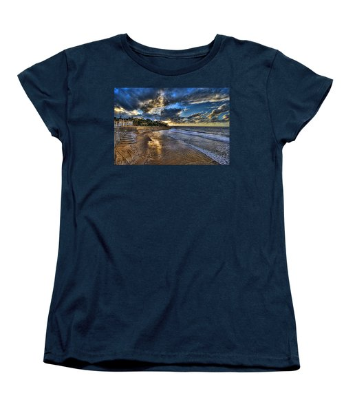 the golden hour during sunset at Israel Women's T-Shirt (Standard Cut) by Ronsho