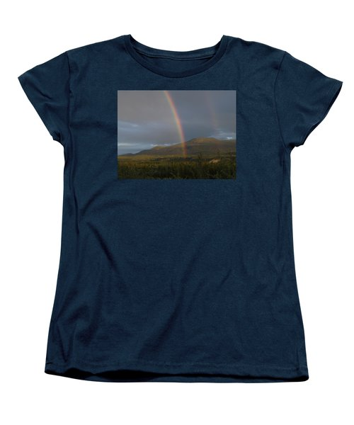 The Great Divide Women's T-Shirt (Standard Cut) by Brian Boyle