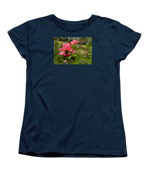 Women's T-Shirt (Standard Cut) featuring the photograph The Greatest Love by Larry Bishop