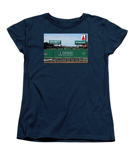 The Green Monster 99 Women's T-Shirt (Standard Cut) by Tom Prendergast