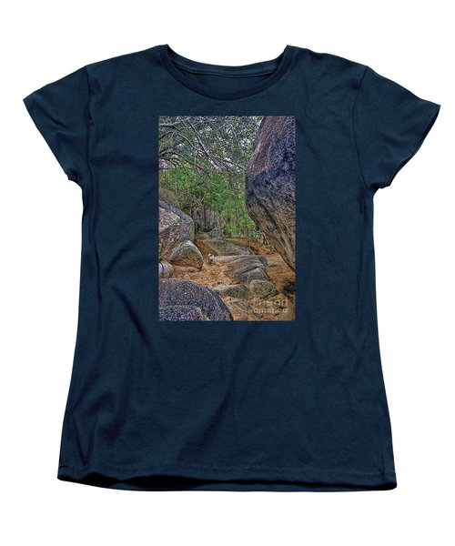 Women's T-Shirt (Standard Cut) featuring the photograph The Guide by Olga Hamilton