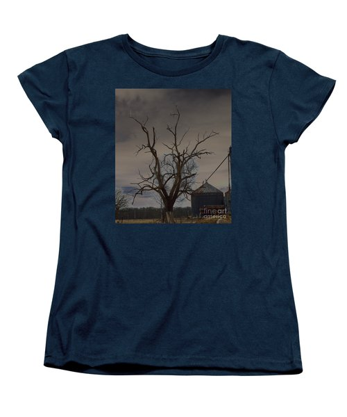 The Haunting Tree Women's T-Shirt (Standard Cut) by Alys Caviness-Gober