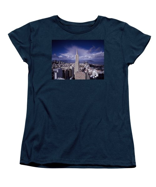 The Heart Of San Francisco Women's T-Shirt (Standard Cut) by Mountain Dreams