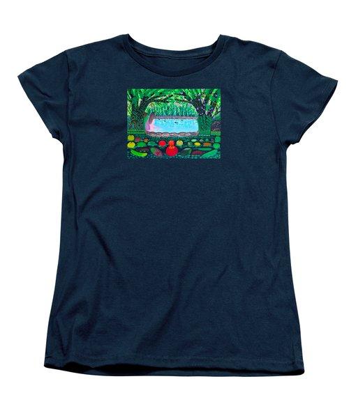 The Hidden Water Women's T-Shirt (Standard Cut) by Lorna Maza