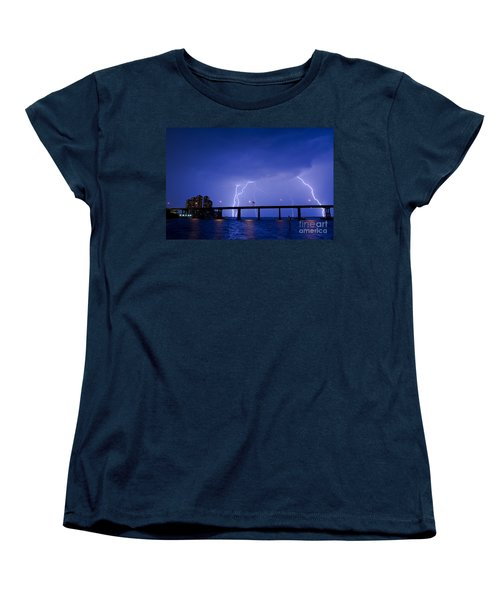 The High Point Place Condo's Women's T-Shirt (Standard Cut) by Quinn Sedam