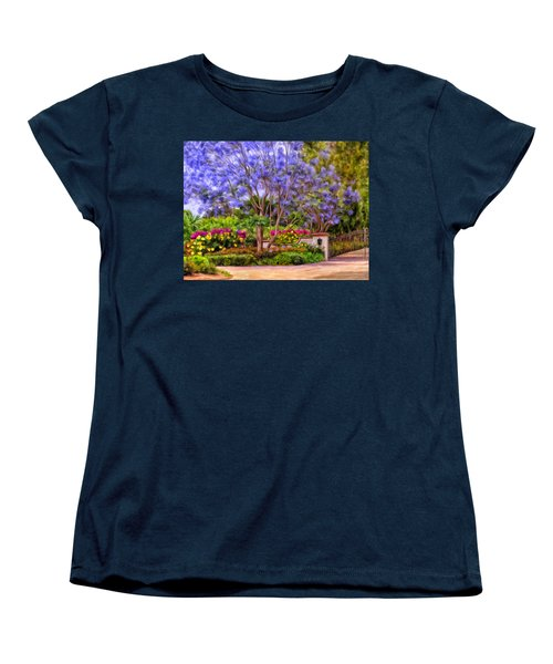 The Jacaranda Women's T-Shirt (Standard Cut) by Michael Pickett