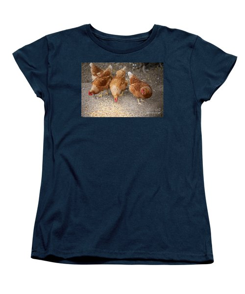 Women's T-Shirt (Standard Cut) featuring the photograph The Ladies by Erika Weber