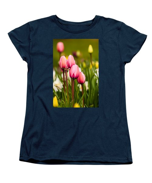 The Last Drops Of Dew Women's T-Shirt (Standard Cut) by Melinda Ledsome