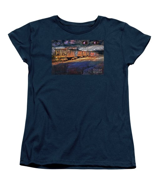 The Last Shipment Women's T-Shirt (Standard Cut) by Gunter Nezhoda