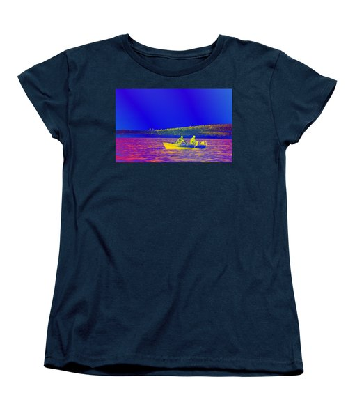 Women's T-Shirt (Standard Cut) featuring the photograph The Lazy Sunday Afternoon by David Pantuso