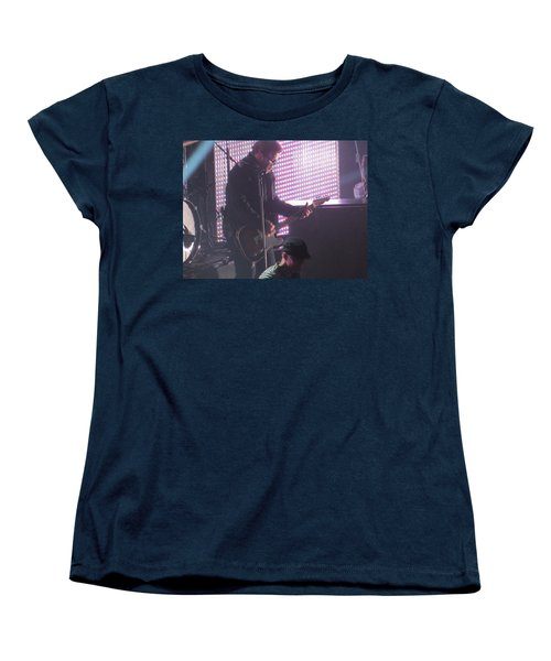 Women's T-Shirt (Standard Cut) featuring the photograph The Leadsinger Of Newsong by Aaron Martens