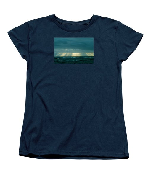 The Light Above Kapoho Women's T-Shirt (Standard Cut) by Lehua Pekelo-Stearns