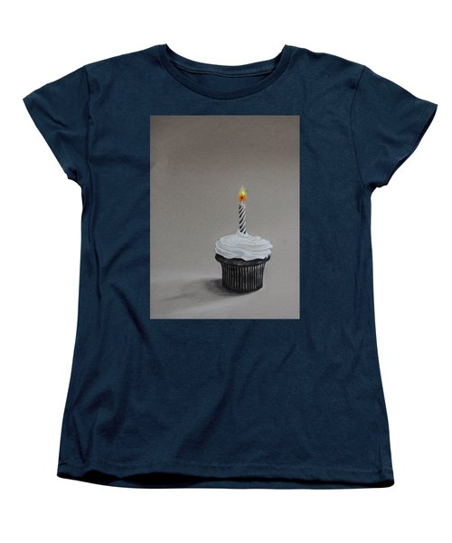 The Loneliest Birthday Ever Women's T-Shirt (Standard Cut) by Jean Cormier